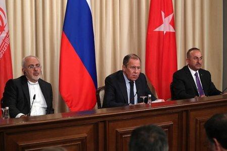 Сергей Лавров: Иран, Турция и Россия будут противостоять попыткам подорвать их совместную работу
