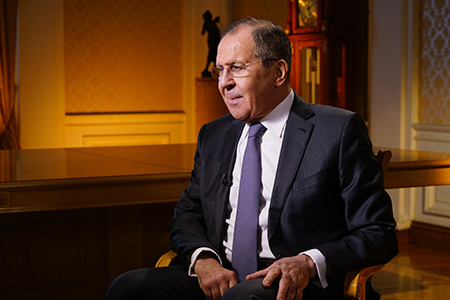 Foreign Minister Sergey Lavrov's interview with Rossiya Segodnya, Moscow, April 20, 2018