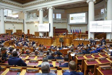 Президент РФ В. Путин провел встречу с членами Совета законодателей Российской Федерации
