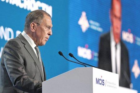 Выступление Министра иностранных дел России С.В.Лаврова на VII Московской конференции по международной безопасности, Москва, 5 апреля 2018 года