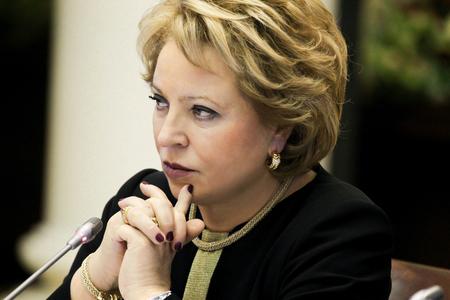 В.И.Матвиенко об актуальных вопросах текущей международной повестки (из интервью ТАСС)
