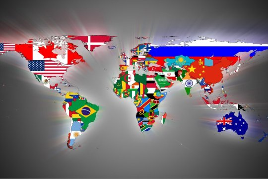 Разделяющийся Запад. Объединяющийся Восток