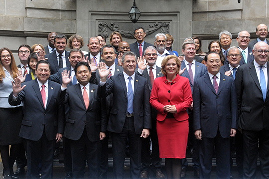Министры сельского хозяйства G20 за устойчивое будущее