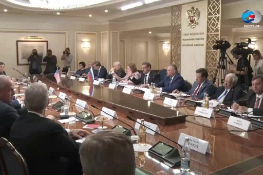 Встреча членов Комитета СФ по международным делам с делегацией Конгресса США. Запись трансляции 3.07.2018 г