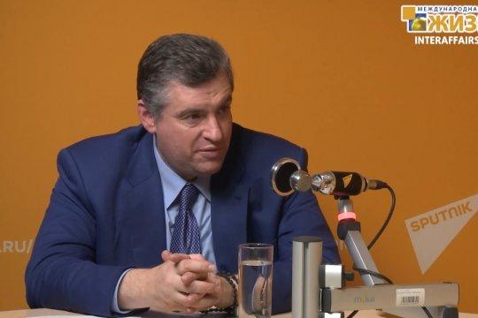 Слуцкий Леонид Эдуардович – Председатель Комитета ГД РФ по международным делам (часть 1)