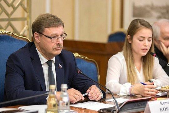 Константин Косачев: Мы не представляем угрозу для США
