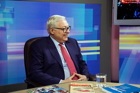 Сергей Рябков: Американцы привыкли говорить с Россией на языке ультиматумов