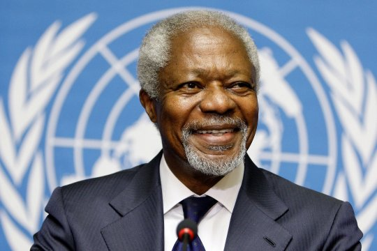 Памяти Кофи Аннана…