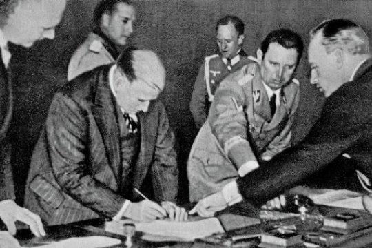 Мюнхен-1938: у порога мировой войны