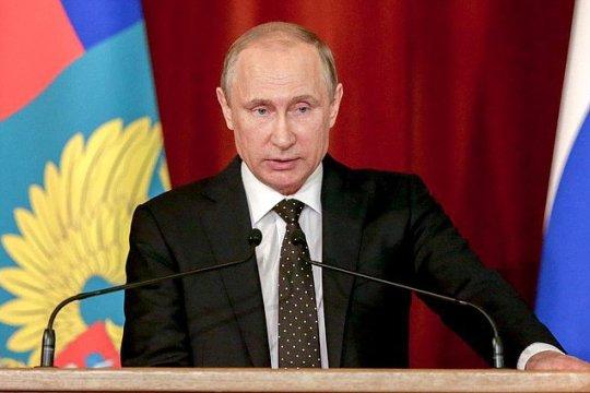 Выступление Президента Российской Федерации В.В.Путина на Совещании послов и постоянных представителей Российской Федерации Москва, МИД, 19 июля 2018 года
