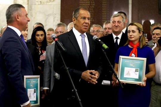 100 лет Департаменту дипломатическо-курьерской связи