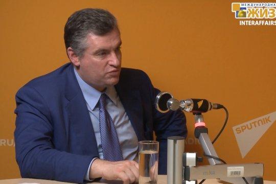 Слуцкий Леонид Эдуардович – Председатель Комитета ГД РФ по международным делам (часть 2)