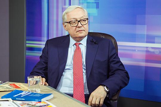 Рябков обозначил вопросы к США по вооружениям