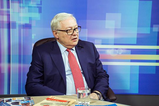 Сергей Рябков: США не готовы договориваться на компромиссной основе