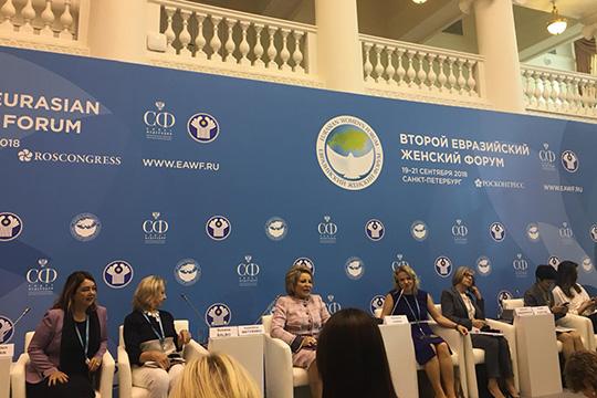 Матвиенко: «Женская двадцатка» стала эффективным каналом коммуникации с мировыми лидерами