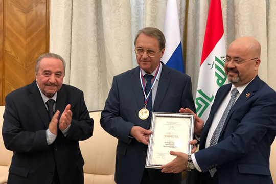 Богданов не исключил российскую военную помощь Ираку