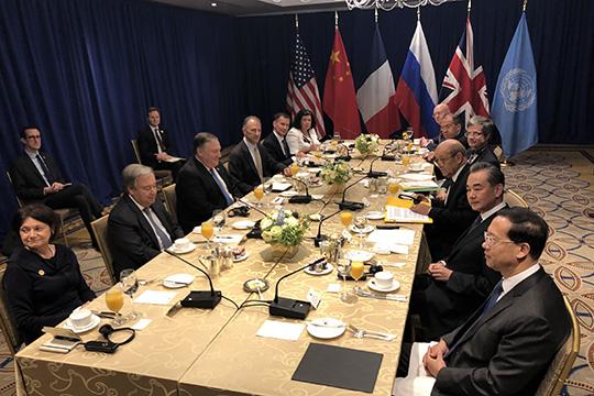 Совбез ООН: Шулер за столом
