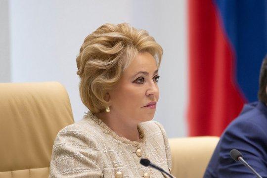 Матвиенко провела двусторонние встречи на полях Евразийского женского форума