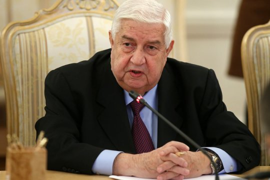 Глава МИД Сирии рассказал какие страны будут восстанавливать страну