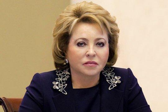 Матвиенко выразила соболезнования в связи с кончиной президента Вьетнама