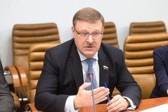 К.Косачев: Двусторонние связи СФ и Сената Италии будут активизированы