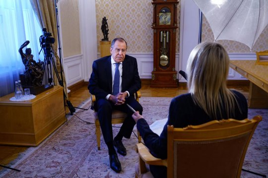 Foreign Minister Sergey Lavrov's interview with Euronews, Moscow, October 16, 2018