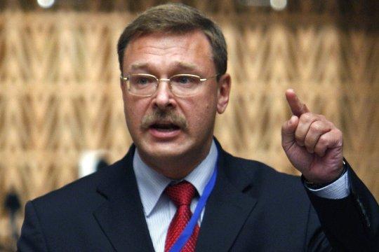 Косачев: санкции в отношении парламентариев недопустимы