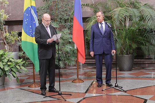 Сергей Лавров: Бразилия послужила для России «окном» в Латинскую Америку