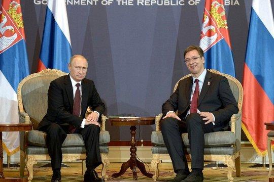 Путин встретится с Вучичем 2 октября
