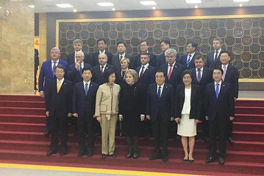 В.Матвиенко: Россия выступает посредником в диалоге двух Корей