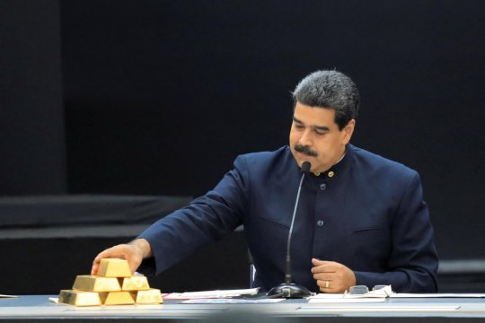 Банк Англии отказался вернуть золото Венесуэле
