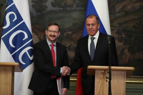 Лавров призвал реформировать ОБСЕ
