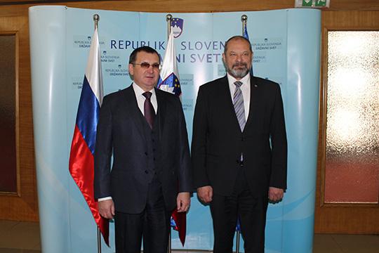 Федоров: между Россией и Словенией есть плодотворное социально-экономическое и политическое взаимодействие