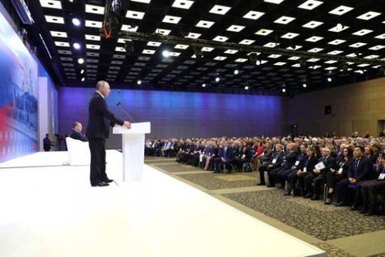 Путин: Мы заинтересованы, чтобы соотечественники не теряли своей «русскости»