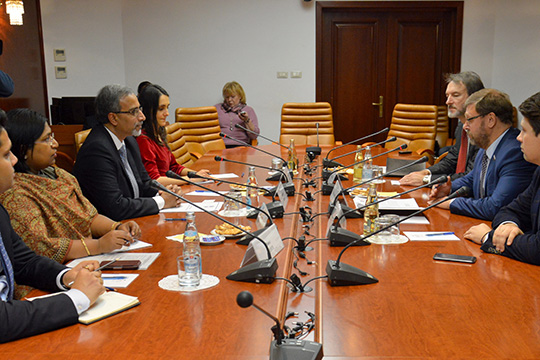 Россия и Индия активизируют межпарламентские контакты