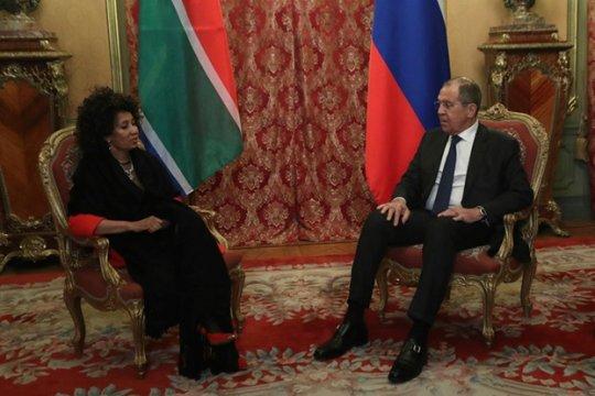 Сергей Лавров: Россия и ЮАР отстаивают незыблемость Конвенции ОЗХО