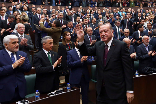 Внешняя политика Турции: от идеологии к прагматизму (в поисках геополитической парадигмы)