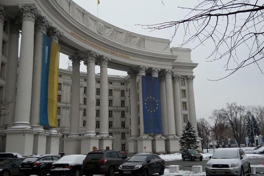 Чем занимались в МИД Украины когда украинские корабли заходили в российские терводы