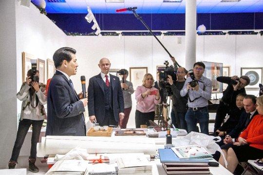 Современный музей каллиграфии презентовал выставку «Великая китайская каллиграфия и живопись»