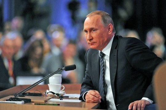 Большая пресс-конференция Президента России Владимира Путина в Москве