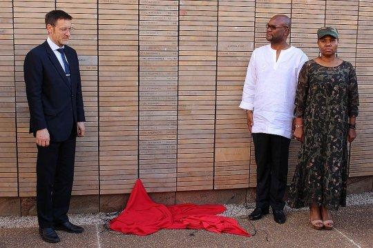 В ЮАР состоялось официальное открытие мемориальной стены памяти погибшим советским воинам-интернационалистам