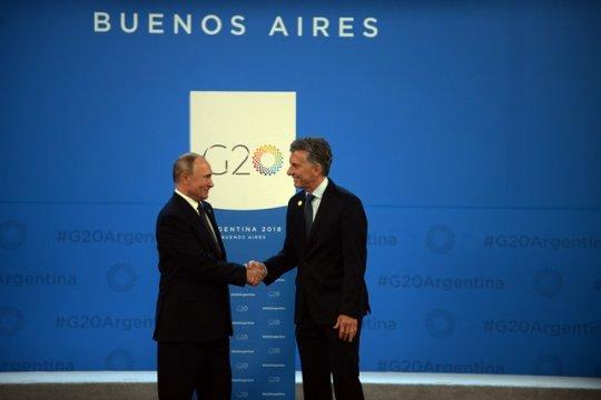 В Аргентине завершился саммит G20 и состоялся визит В. Путина