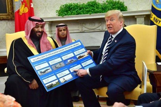 Американцы пошли войной на саудовское руководство