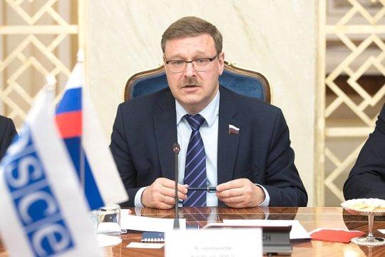 К. Косачев: в СФ внимательно следят за ситуацией в Ливане