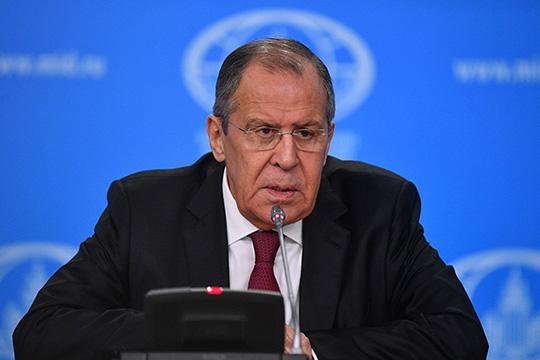 Пресс-конференция главы МИД РФ Сергея Лаврова. Главное