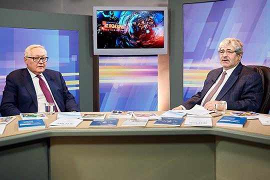 Сергей Рябков: США занимаются политическим эксгибиционизмом