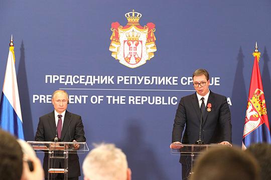 Россия-Сербия: экономика впереди политики