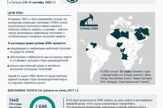 Организация стран - экспортёров нефти (ОПЕК)