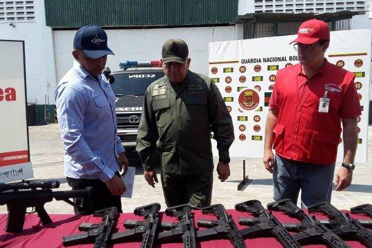 Венесуэльские власти перехватили партию американского оружия