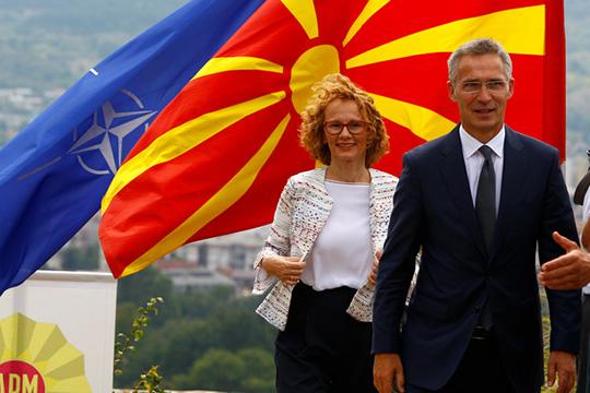 НАТО пытается утвердиться в сердце Балкан